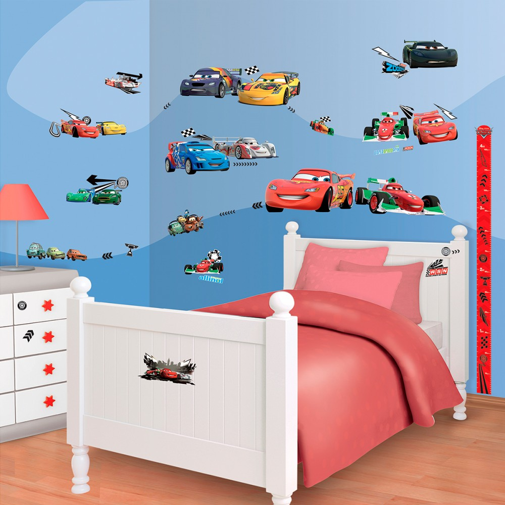peinture chambre cars disney. Black Bedroom Furniture Sets. Home Design Ideas